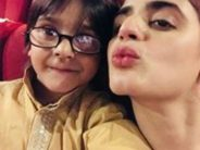 Hira Mani Spends Time With Kids