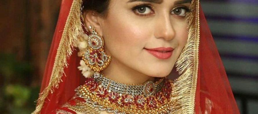 Sumbul Iqbal's Latest Bridal Shoot-Pictures