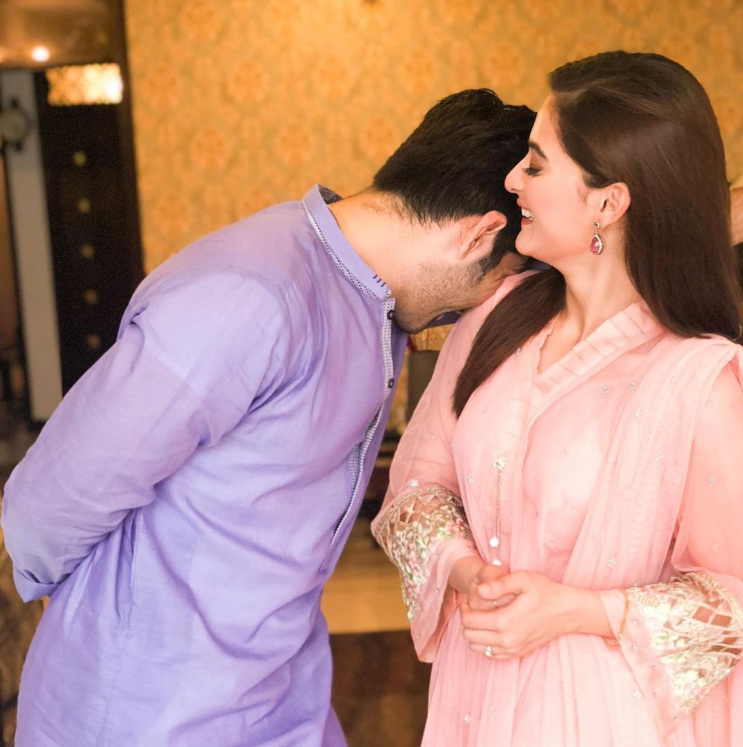 Aiman Khan And Muneeb Butt Pictures - Cutest Celebrity Couple