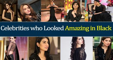 Pakistani Celebrities who Looked Amazing in Black
