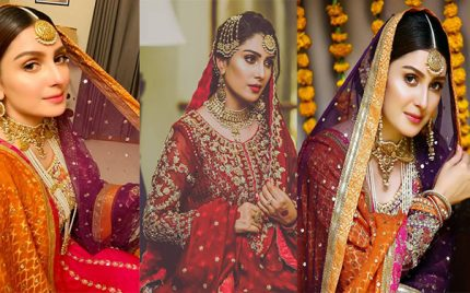 The Best Bridal Looks of Ayeza Khan