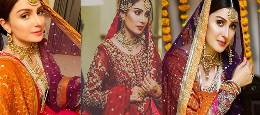 The Best Bridal Looks of Ayeza Khan