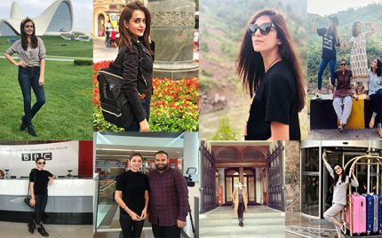 Pakistani Celebrities Who Are Travel Freaks