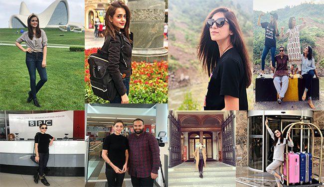 Pakistani Celebrities Who Are Travel Freaks