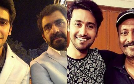 Pakistani Celebrity Fathers and Sons