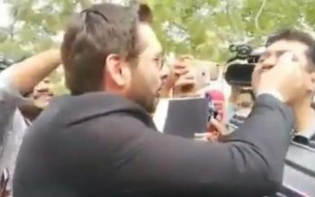 Afridi Deals With Reporter Asking About The 'Naswar' Fiasco In Lala Style