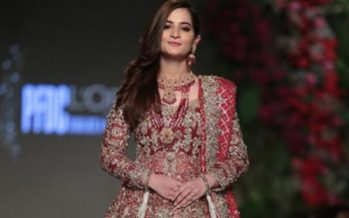 Aiman Khan Dazzles At PLBW 2018