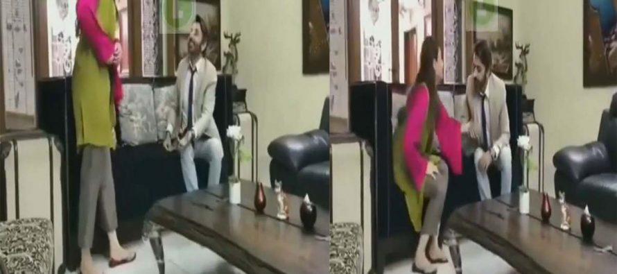 Hina Altaf Got Uncomfortable During Shoot With Faisal Rehman!
