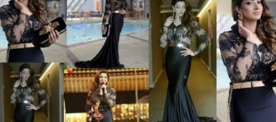 Sana Fakhar Backstage At 6th Hum Awards
