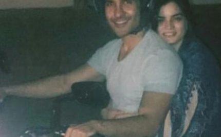 Feroze Khan Takes Wife On A Midnight Bike Ride