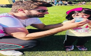 Syed Jibran's Latest Pictures With His Wife and Kids