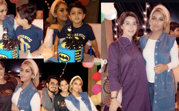 Mathira Celebrates Son Aahil's 3rd Birthday