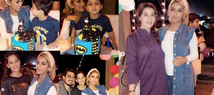 Mathira Celebrates Son Aahil's 3rd Birthday