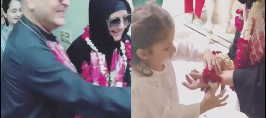 Nooreh Welcomes Grandparents Home After Hajj In The Most Adorable Way