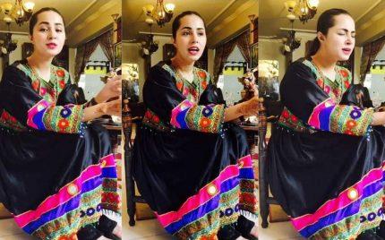 Nimra Khan Sings Her Favorite Childhood Song