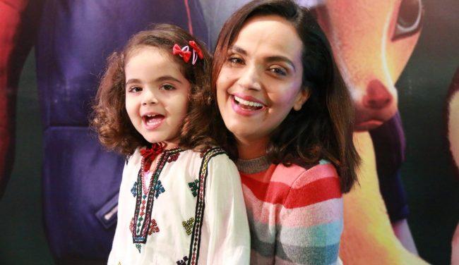 Amina Sheikh With Her Beautiful Baby Girl!