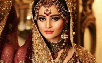 Aiman Khan Stuns In Latest Bridal Photo Shoot!