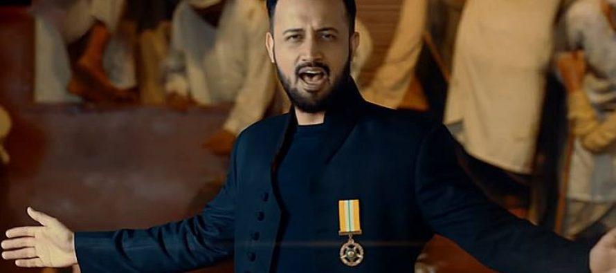 """Atif Aslam's """"Humain Pyar Hai Pakistan Se"""" Brings Out The Inner Patriotism!"""