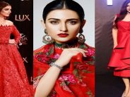 Pakistani Celebrities Slaying In Red