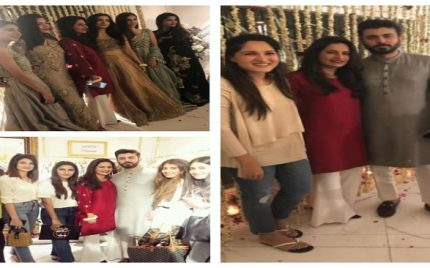 Sadaf Fawad 's First Exhibition Of Bridal Wear