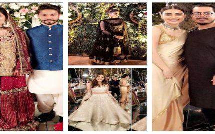 Celebrities At Sadia Ghaffar's Sister's Wedding Ceremony