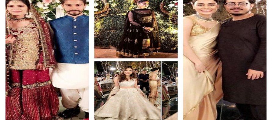 Celebrities At Sadia Ghaffar's Sister's Wedding Ceremony