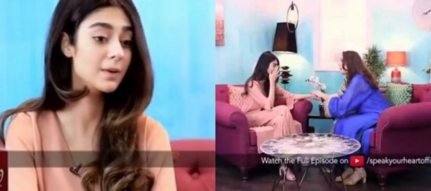 Noor Khan Gets Emotional and Cries During An Interview