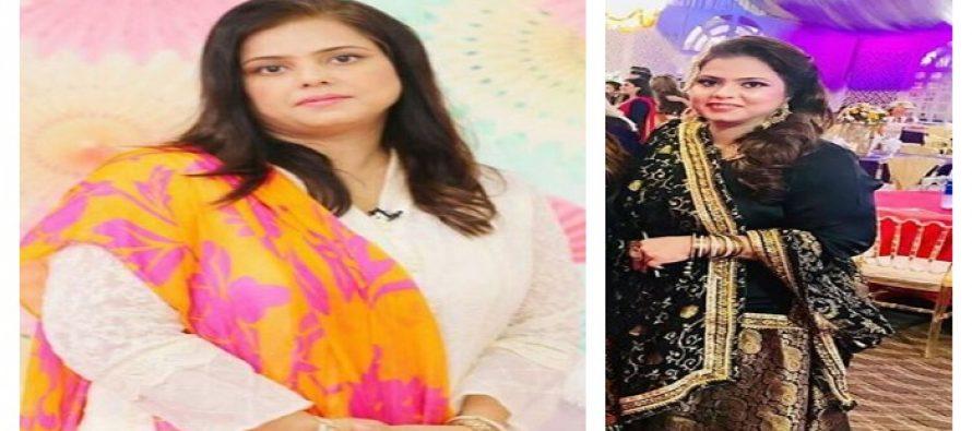 Sara Razi Khan's Mother's Look on Mehndi
