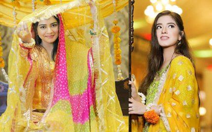 Sara Razi Khan Mayoun/Mehndi – Pictures