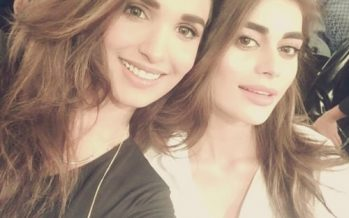Sadaf Kanwal And Amna Ilyas Get Candid At HSY's Show!