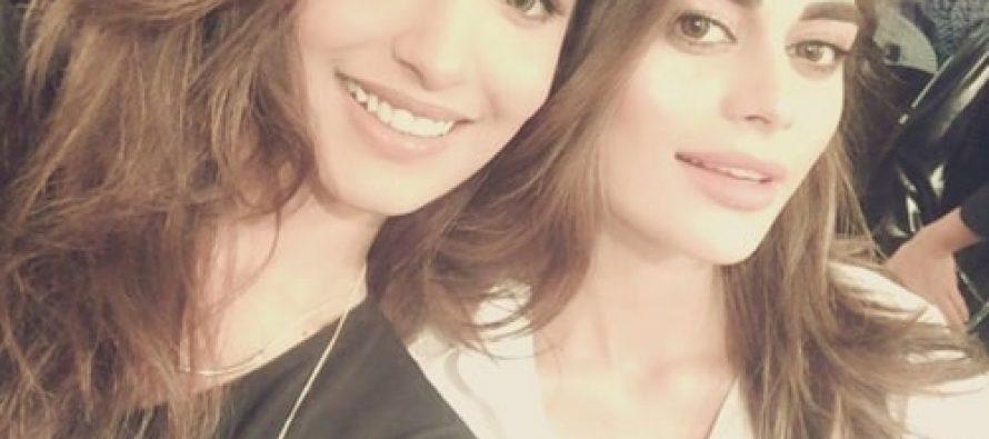 Sadaf Kanwal And Amna Ilyas Get Candid At HSY's Show!