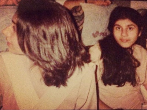 Mahira Khan Shares A Picture From Her School Days