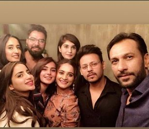 Celebrities At Hassan Hayat Khan's Birthday