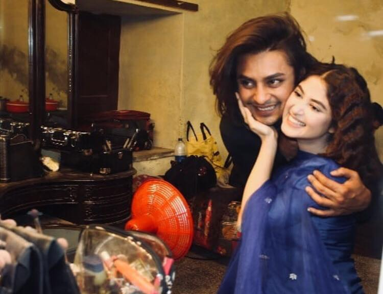 Cute & Candid Pictures Of Sajal Ali With Her Favorite Make-up Artist