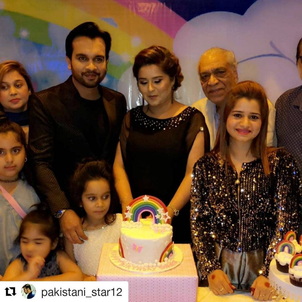 Imran Aslam's Daughter's Star Studded Birthday Party