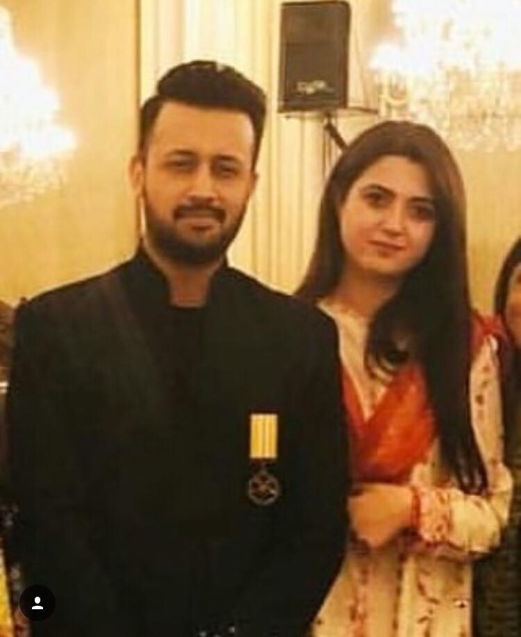 Atif Aslam Wife Sara Bharwana - 20 Romantic Pictures