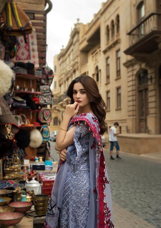 Beautiful Photo Shoot Of Aiman Khan From Baku