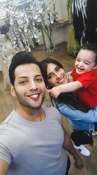 Ayeza Khan Goes Shopping With Her Son