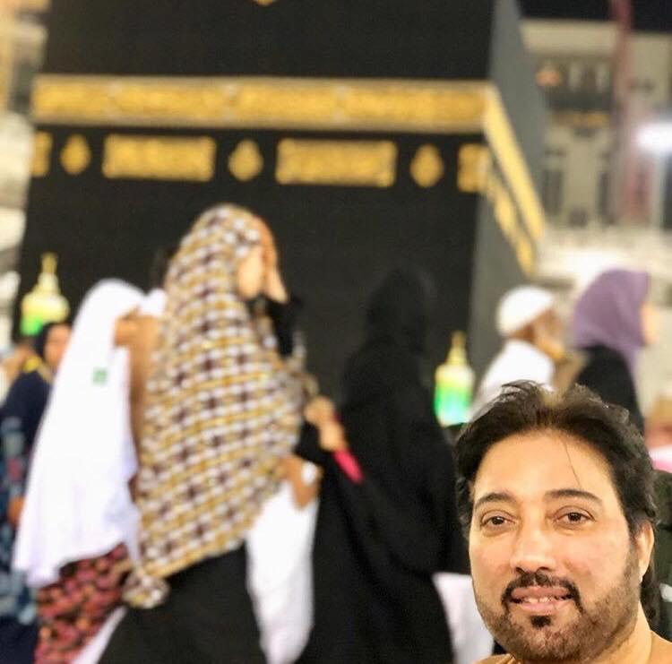 Javeria Saud And Family - Umrah Pictures