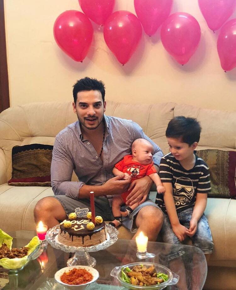 Kanwar Arsalan's Birthday Pictures with his Family