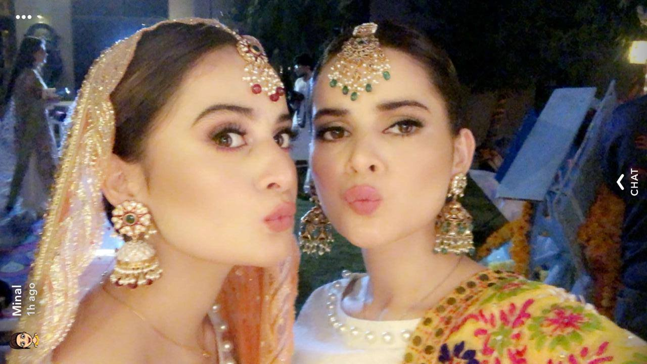 Aiman Khan Dholki Exclusive Pictures And Videos 2018