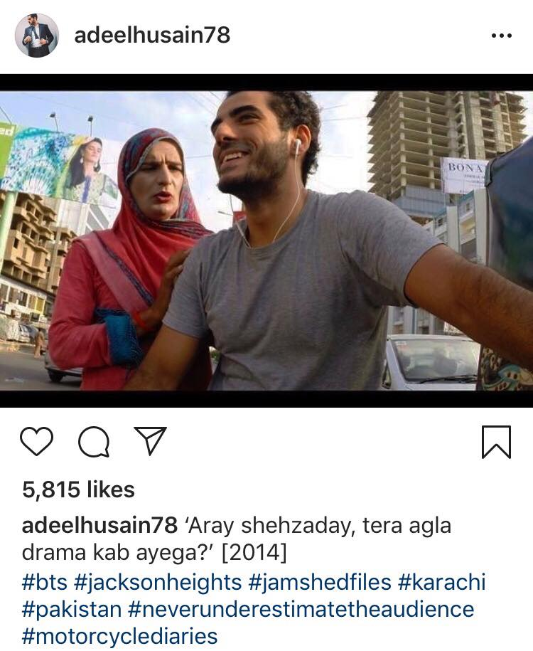 Adeel Hussein Is Being Terribly Missed