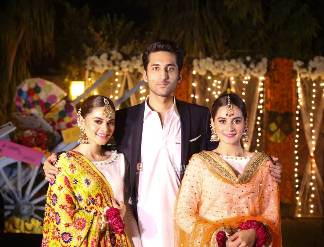Aiman Khan Dholki Event Professional Pictures 2018