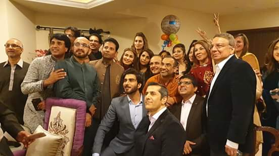 Reema's Sweet Gesture For Imran Abbas