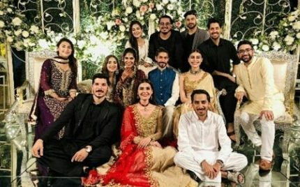 Sadia Ghaffar's Sister's Star-Studded Wedding-Pictures