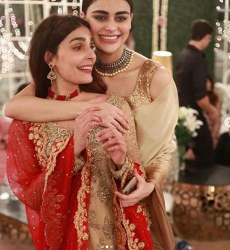 Sadia Ghaffar's Sister's Star-Studded Wedding-Pictures