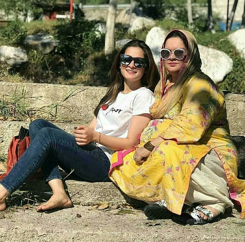Aiman And Minal In Hunza Balakot Northern Areas of Pakistan - Pictures