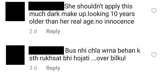 People Think Arisha Razi Looked More Like A Bride Than Sara