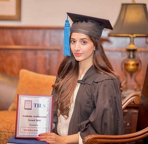 Mawra Hocane Gets Academic Excellence Award