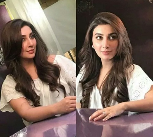 Ayesha Khan's Shoot First Time After Marriage